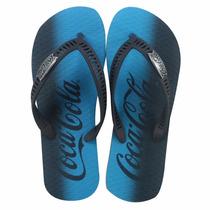 Sandalia Coca Cola ® Fade Cc2076 Novo