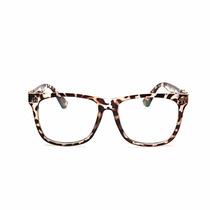 Armação Óculos Acetato Quadrado Grande Retro Vintage Novo Br a0f85605da