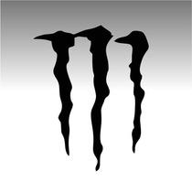 20 Adesivo Automotivo Monster