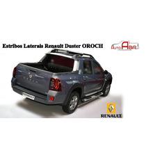 Estribo Nova Duster Oroch Preto Prata Ou Grafite Com Kit