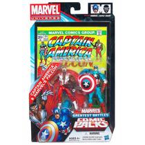 Marvel Universe 2-pack Falcon E Capitão América Brinquetoys