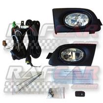 Kit Farol Milha Honda Civic 2001 2002 2003 (brinde Lâmpadas)