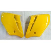 Aba Tanque Cbx 250 Twister Amarelo 07/08 S/ Adesivo Par