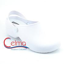 1180 Sapato Branco Boa Onda Bio Para Uniforme