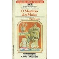 Livro O Mistério Dos Maias Oferta Barato Demais Reliquiaja