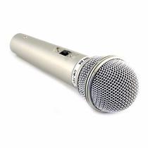 Microfone Profissional Com Fio - Dm-701