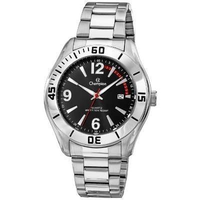 74df86a8481 Relógio Masculino Champion Prata Ca31186t Original Promoção
