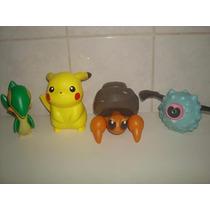 Lote C/ 4 Pokemon Da Coleção Mc Donalds - Funcionando.