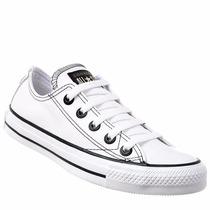 Tênis Converse Allstar Couro Sintético Branco 328002