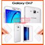 Capa Celular Case Galaxy On7 Tpu Flexivel + Película Vidro