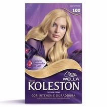 Tinta Creme Koleston Louro Pastel 100