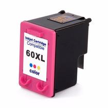 Cartucho Hp 60 Xl Colorido Compativel 20ml | Hp Cc640w