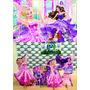 Kit Display De Chão Barbie Pop S 8 Peças + Painel 2,00x1,40m