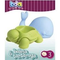 Brinquedo De Bebê A Partir Dos 3 Meses Baleia E Tartaruga