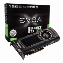 Placa De Video Evga Gtx Titan X 12gb 12g-p4-2990-kr Dos Eua