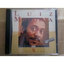 Cd - Luiz Melodia - Minha Historia - 14 Musicas