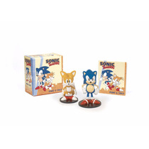 Sonic The Hedgehog And Tails Bonecos Miniaturas Figures