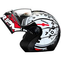 Capacete Moto Mixs Gladiator Rpm Velocimetro Robocop