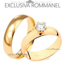 Rommanel Alianças Noivado Namoro Compromisso 510892 511401