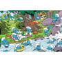 Painel Decorativo Festa Infantil Aniversário Smurfs (mod3)