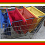 Sacola Bags Practices Broadside Para Carrinho Supermercado