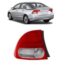 Lanterna Traseira New Civic 2007 2008 09 2010 2011 Canto Ld