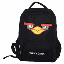 Mochila Angry Birds Tam. M Escolar Infantil Abm601901