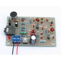 Kit Para Montar Transmissor Fm Com Transistor C/ Microfone