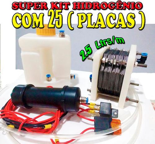 c3b785ade74 Kit Hidrogênio 25 Placas Inox 316l - R  789 en Melinterest