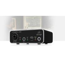 Interface De Audio Um2 Behringer U-phoria Um2 Original