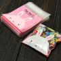 Saquinhos Plásticos For You Coelhinho Lembrancinha 80 Unid