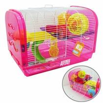 Casa Para Hamster Com Brinquedos - Animal Planet 45x30x30cm