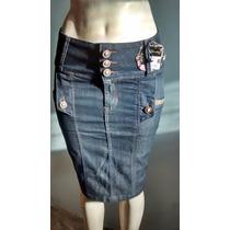 Saia Jeans Secretária