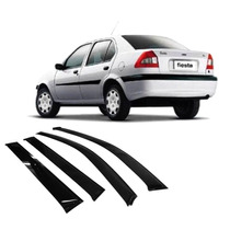 Calha Fiesta Street Sedan 97 Em Diante 04 Portas Ford -8141c