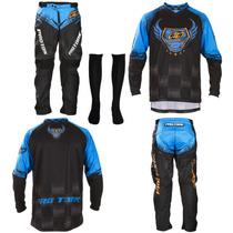 Kit Calça Camisa Pro Tork Insane 5 Motocross Pro Tork 2016