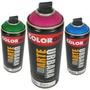 Tinta Spray Colorgin Arte Urbana 15 Preto E 05 Cores Kit