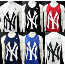 Camiseta Regata Masculina New York Yankees Ny Academia