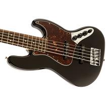 Contrabaixo Dlx Active Jb V Bk Fender 013-6860-306