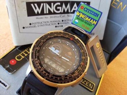 57fdb081317 Citizen Wingman Novo Raro Anos 80 Duvido Outro Igual - R  28783 en ...