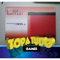 Nintendo 3ds Xl Pelicula + Stylus + Jogo Com Garantia Loja!