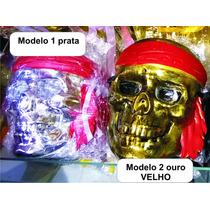 Fantasma Máscara Caveira Pirata Carnaval Ganhe Outra Aeio@
