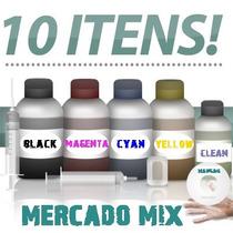 Kit De Recarga Para Cartucho Hp 122 Da 1000 3050 2050 1050