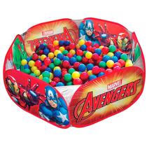Piscina De Bolinhas Infantil Avengers Vingadores Zippy