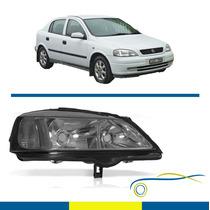 Farol Chevrolet Astra 1999 Até 2002 Cromado Direito Novo