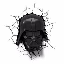 Luminária 3d Light Fx Star Wars - Mascara Darth Vader