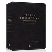 Bíblia De Estudo Thompson Letra Grande A C Luxo