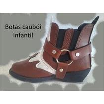 Bota Cowboy Couro Infantil