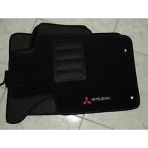 Jogo Tapete Carpete Base Borracha Mitsubishi L200 Triton