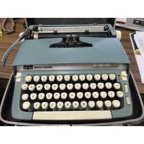Maquina De Escrever Antiga Scm Smith Corona Super Sterling