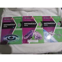Matemática - Moderna Plus - Box Com 3 Livros. Manoel Paiva